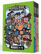 Cover-Bild zu Minecraft Woodsword Chronicles Box Set Books 1-4 (Minecraft) von Eliopulos, Nick