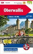 Cover-Bild zu Oberwallis Velokarte Nr. 21. 1:60'000 von Hallwag Kümmerly+Frey AG (Hrsg.)