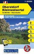 Cover-Bild zu Oberstorf Kleinwalsertal Outdoorkarte Deutschland Nr. 1. 1:35'000 von Hallwag Kümmerly+Frey AG (Hrsg.)