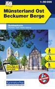 Cover-Bild zu Münsterland Ost, Beckumer Berge. 1:50'000 von Hallwag Kümmerly+Frey AG (Hrsg.)