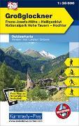 Cover-Bild zu Grossglockner, Franz-Josefs-Höhe, Heiligenblut, Nationalpark Hohe Tauern, Hochtor, Nr. 13 Outdoorkarte Österreich 1:35 000. 1:35'000 von Hallwag Kümmerly+Frey AG (Hrsg.)