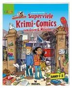 Cover-Bild zu Redaktion Wadenbeißer Superviele Krimi-Comics, Doppelband von Rometsch, Ina