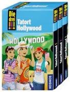 Cover-Bild zu Die drei !!!, 75, Tatort Hollywood von Heger, Ann-Katrin
