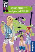 Cover-Bild zu Die drei !!!, Spione, Spaghetti und ganz viel Venedig von Wich, Henriette