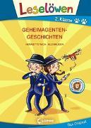 Cover-Bild zu Leselöwen 2. Klasse - Geheimagentengeschichten von Wich, Henriette