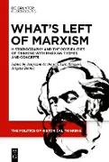 Cover-Bild zu What's Left of Marxism (eBook) von Zachariah, Benjamin (Hrsg.)