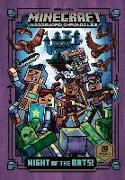 Cover-Bild zu Night of the Bats! (Minecraft Woodsword Chronicles #2) von Eliopulos, Nick