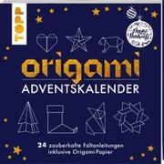 Cover-Bild zu Origami Adventskalender von frechverlag