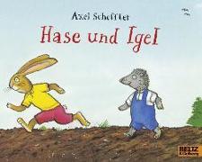 Cover-Bild zu Hase und Igel von Scheffler, Axel