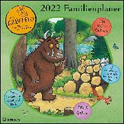Cover-Bild zu Grüffelo 2022 Familienplaner - Familien-Timer - Termin-Planer - Kinder-Kalender - Familien-Kalender - 30x30 von Donaldson, Julia