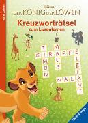 Cover-Bild zu Disney Der König der Löwen: Kreuzworträtsel zum Lesenlernen von The Walt Disney Company (Illustr.)