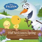 Cover-Bild zu Disney Frozen. Olaf Welcomes Spring von Rubiano, Brittany
