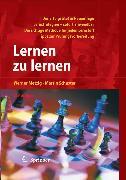 Cover-Bild zu Lernen zu lernen (eBook) von Schuster, Martin