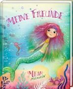 Cover-Bild zu Lindström, Erik Ole: Freundebuch - Meja Meergrün - Meine Freunde
