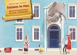 Cover-Bild zu Elefanten im Haus. Kamishibai Bildkartenset von Schneider, Stephanie