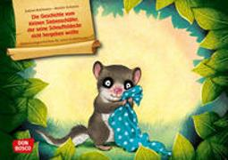 Cover-Bild zu Die Geschichte vom kleinen Siebenschläfer, der seine Schnuffeldecke nicht hergeben wollte. Kamishibai Bildkartenset von Bohlmann, Sabine