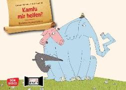 Cover-Bild zu Kamfu mir helfen? Kamishibai Bildkartenset von Schmidt, Barbara