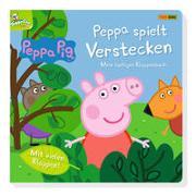 Cover-Bild zu Peppa Pig: Peppa spielt Verstecken - Mein lustiges Klappenbuch von Panini