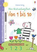 Cover-Bild zu Brooks, Felicity: Mein Wisch-und-weg-Buch: Von 1 bis 10
