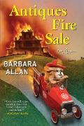 Cover-Bild zu Antiques Fire Sale (eBook) von Allan, Barbara