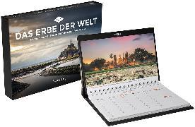 Cover-Bild zu Das Erbe der Welt Tischkalender 2020