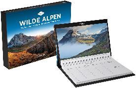 Cover-Bild zu Wilde Alpen Tischkalender 2020