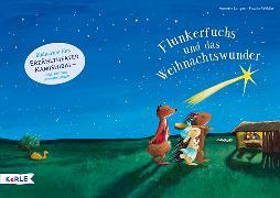 Cover-Bild zu Flunkerfuchs und das Weihnachtswunder. Bildkarten fürs Erzähltheater Kamishibai von Langen, Annette