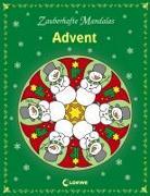 Cover-Bild zu Zauberhafte Mandalas - Advent von Labuch, Kristin (Illustr.)