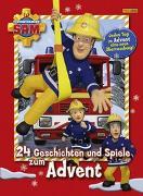 Cover-Bild zu Feuerwehrmann Sam: 24 Geschichten und Spiele zum Advent