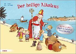 Cover-Bild zu Der heilige Nikolaus. Bildkarten fürs Erzähltheater Kamishibai von Zett, Sabine