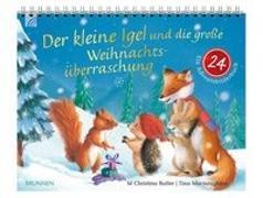 Cover-Bild zu Der kleine Igel und die große Weihnachtsüberraschung von Butler, M Christina