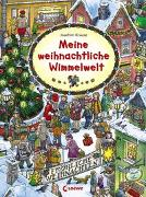 Cover-Bild zu Meine weihnachtliche Wimmelwelt von Krause, Joachim (Illustr.)
