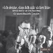 """Cover-Bild zu Brecht, Bertolt: """"Ich denke, dass ich mir sicher bin"""" (Audio Download)"""