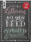 Cover-Bild zu frechverlag: Handlettering All you need. Die schönsten Alphabete und Schmuckelemente