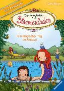 Cover-Bild zu Mayer, Gina: Der magische Blumenladen für Erstleser, Band 5: Ein magischer Tag im Freibad