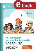 Cover-Bild zu Vetter, Alexandra: Wirkungsvolle Nachdenkaufgaben für Verpeilte (eBook)