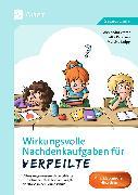 Cover-Bild zu Vetter, Alexandra: Wirkungsvolle Nachdenkaufgaben für Verpeilte