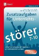 Cover-Bild zu Diemar-Haub, Sandra von: Zusatzaufgaben für Unterrichtsstörer 7-10