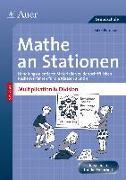 Cover-Bild zu Petersen, Silke: Mathe an Stationen Multiplikation & Division 3-4