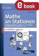 Cover-Bild zu Petersen, Silke: Mathe an Stationen Multipliaktion & Division 3-4 (eBook)