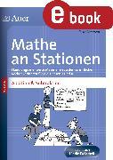 Cover-Bild zu Petersen, Silke: Mathe an Stationen Addition & Subtraktion 3-4 (eBook)