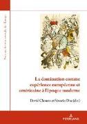 Cover-Bild zu eBook La domination comme expérience européenne et américaine à l'époque moderne