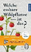 Cover-Bild zu Bastgen, Christa: Welche essbare Wildpflanze ist das? (eBook)