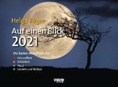 Cover-Bild zu Föger, Helga: Auf einen Blick 2021