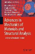 Cover-Bild zu Altenbach, Holm (Hrsg.): Advances in Mechanics of Materials and Structural Analysis (eBook)