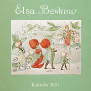 Cover-Bild zu Beskow, Elsa: Elsa-Beskow-Kalender 2021