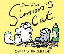 Cover-Bild zu Tofield Simon: Simon's Cat 2021 Box Calendar