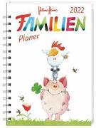 Cover-Bild zu Heine, Helme: Helme Heine Familienplaner Buch A5 Kalender 2022