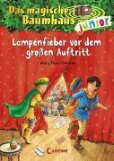 Cover-Bild zu Das magische Baumhaus junior 23 - Lampenfieber vor dem großen Auftritt von Pope Osborne, Mary