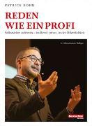 Cover-Bild zu Rohr, Patrick: Reden wie ein Profi